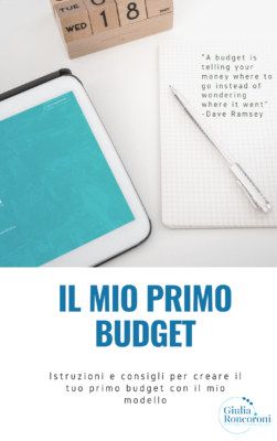 Istruzioni budget